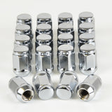 20 x WHEEL LUG NUT 12x1.25 33MM, CHROME