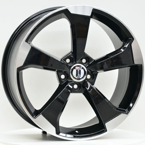 RS3 19x8.5 ET45 5/112 Black Machined