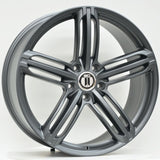 RS6 22x9.5 ET48 5/130 Satin Grey