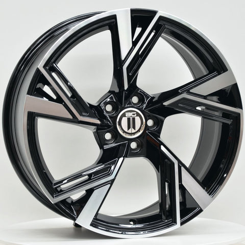 MAGNUS 19x8.5 ET42 5/112 Black Machined