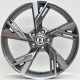 MAGNUS 19x8.5 ET42 5/112 Grey Machined