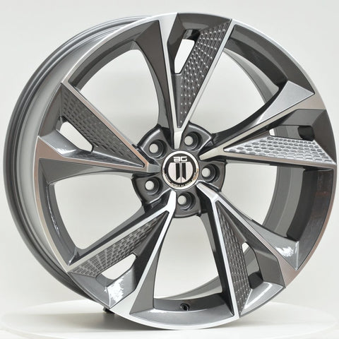 FANTOM 19x8.5 ET42 5/112 Grey Machined