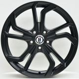 TWIST 18x8 ET45 BLACK