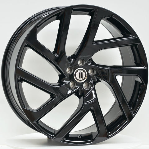 SF1 22x9.5 5/108 Gloss Black