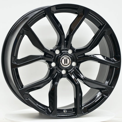 WRATH 22x9.5 5/120 BLACK
