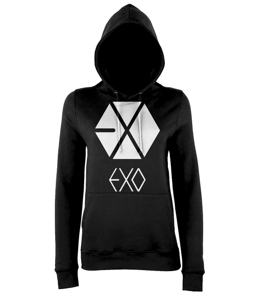 kPoppit EXO Classic Hoodie For Women/Girls With Mama Logo