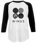 BTS - Wings Unisex Baseball T-shirt