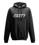 kPopLondon Got7 Flight Log: Arrival - Black College Hoodie [Unisex]