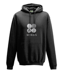 kPopLondon BTS Army Wings - Black College Hoodie [Unisex]