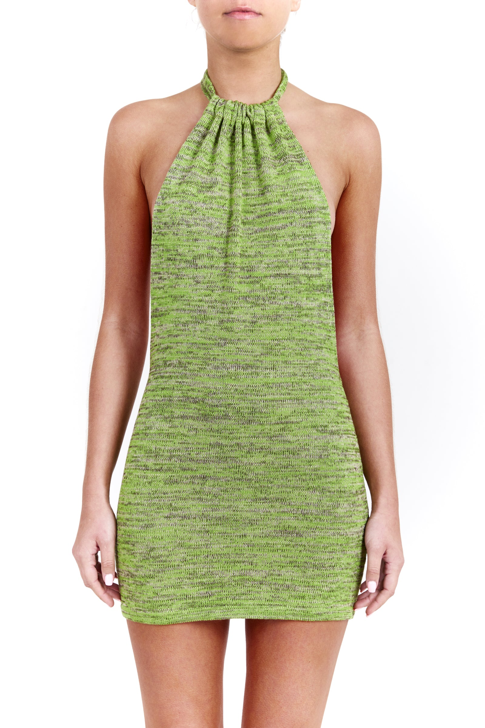BOUNTY dress - moss green