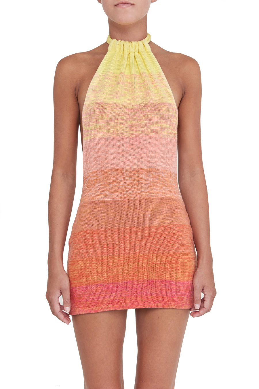 BOUNTY dress - sunset