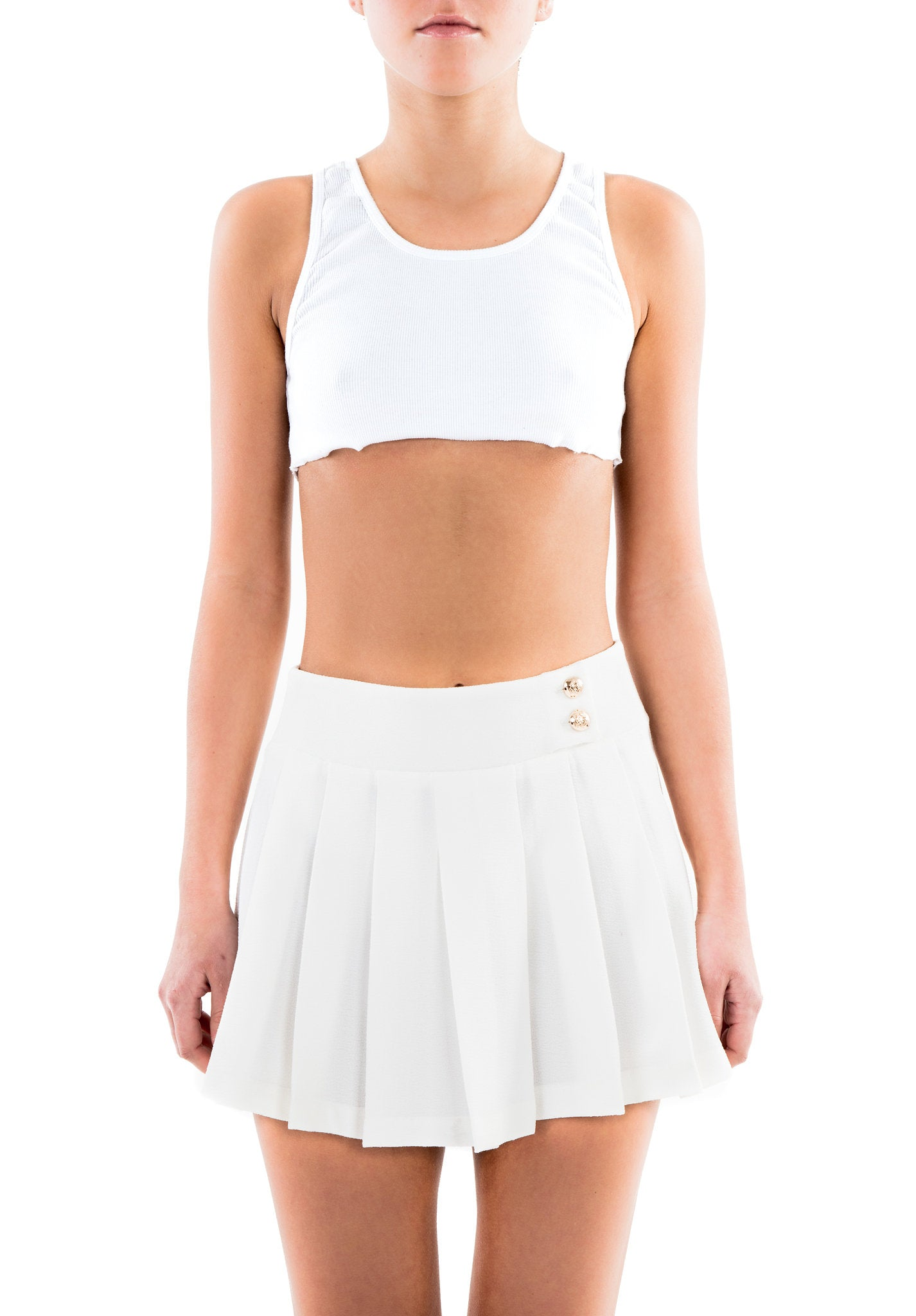 CHER skirt - white