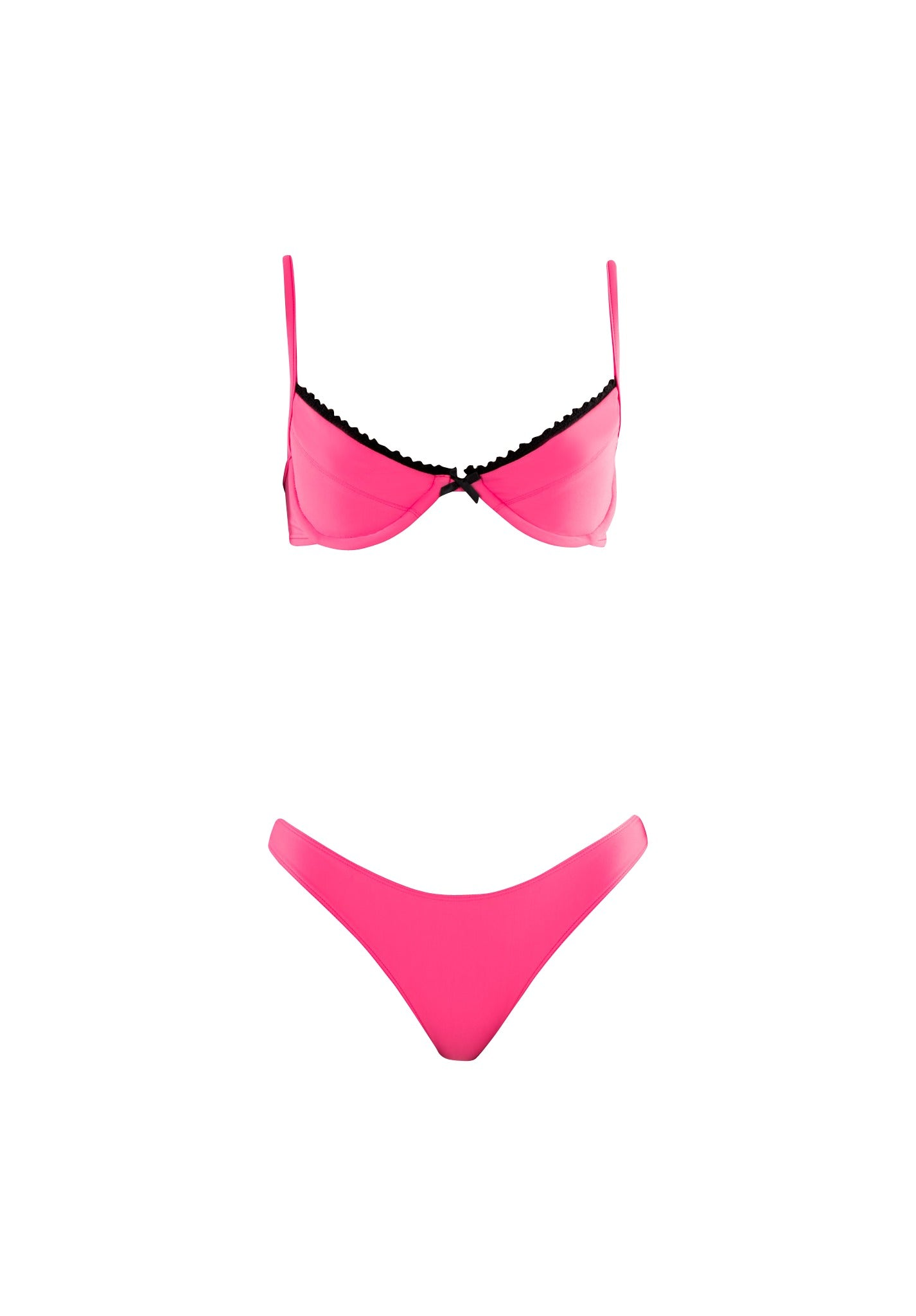 BELLA bra - hot pink