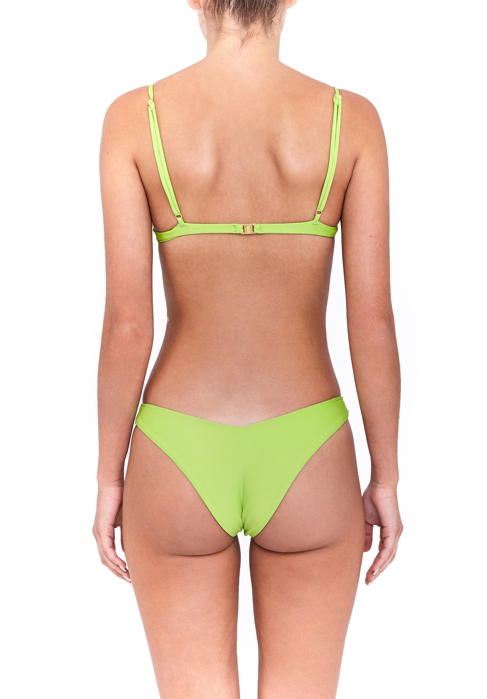 VINO top - lime green