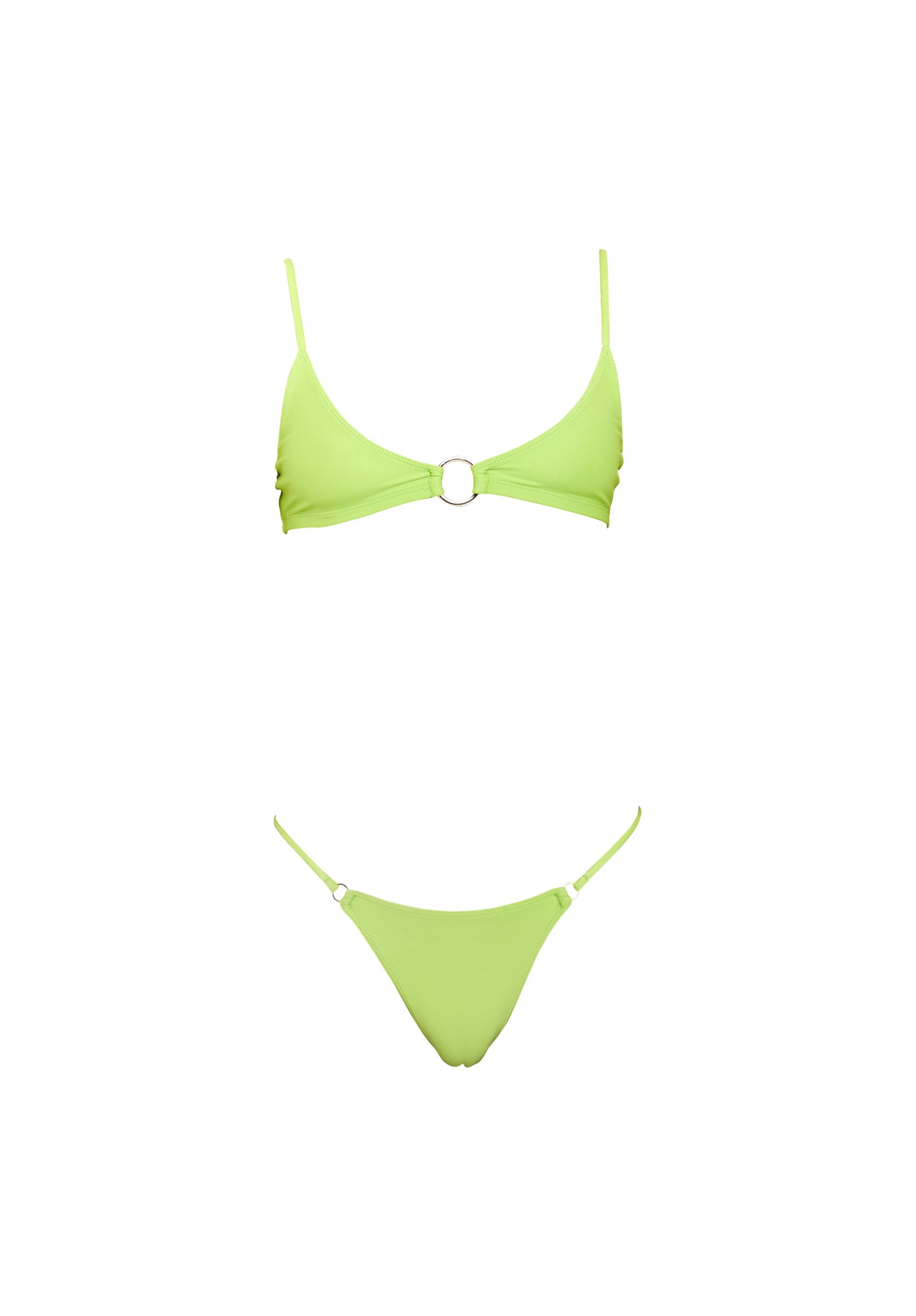RINGLEADER top – lime green