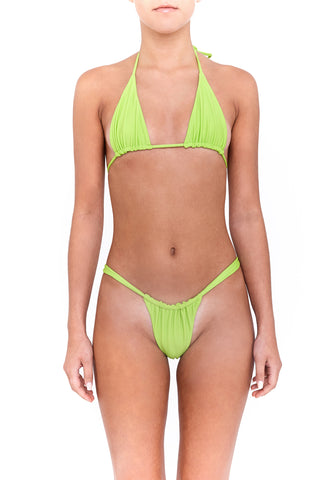 AMORE bottoms - lime green