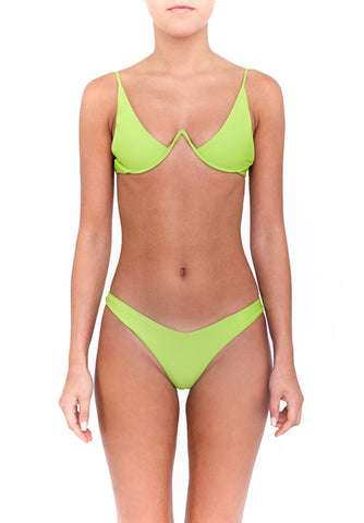 VIXEN bottoms - lime green