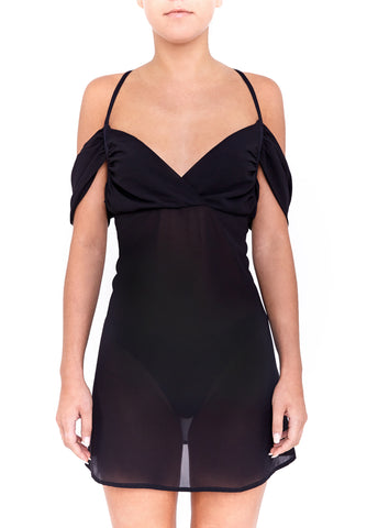 MEDUSA dress - jet black