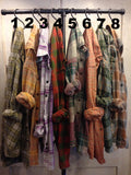 Farmstead Vintage Washed Flannel Shirts- Size Extra Large (E)