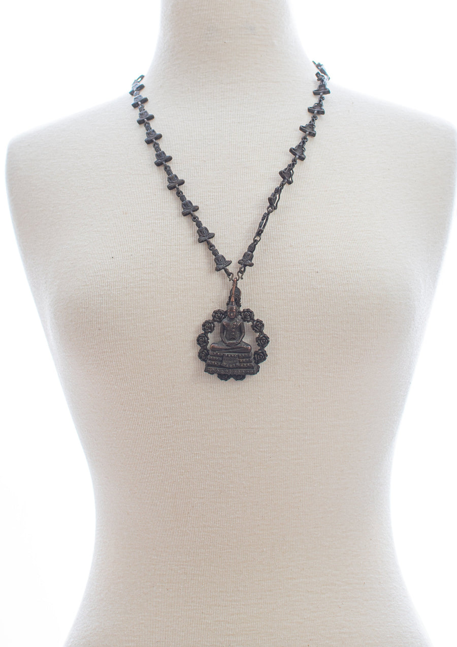 Buddha Metal Necklace