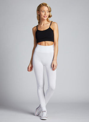 Bamboo High-Waisted Full Length Leggings