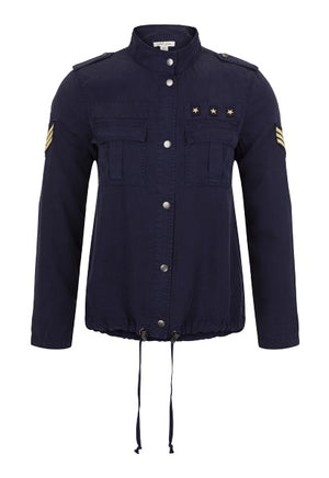 Military Style Soft Touch Jacket