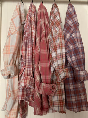 Lily Jack Buck Flannel Style (1)- Size Large