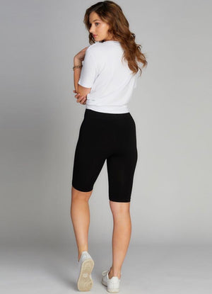 High Waisted Long Shorts