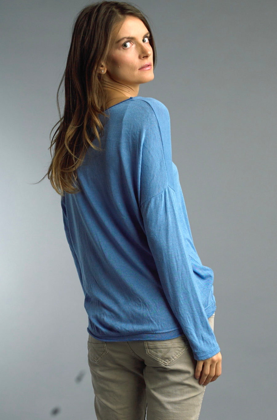 Soft Long Sleeve Basic Tee