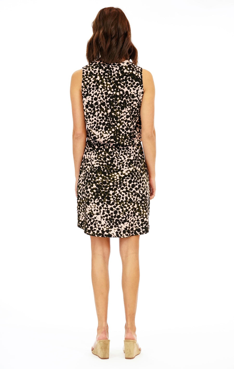 Margot Printed Dress