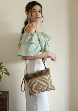 Chocolate Caramel Crossbody