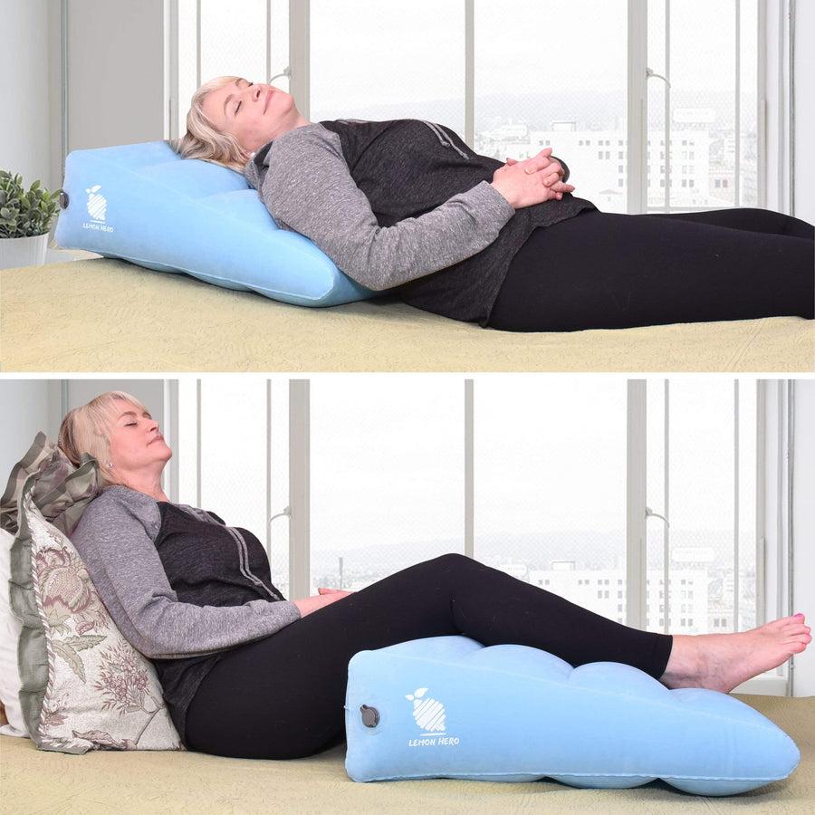 Large Inflatable Bed Wedge Pillow