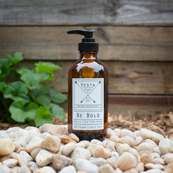 Be Bold | Vegan Liquid Soap | Citrus and Spearmint