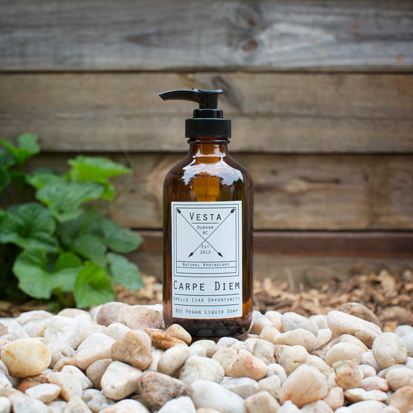 Carpe Diem | Grapefruit and Mint | Vegan Liquid Soap