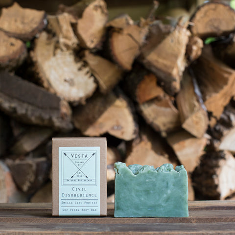 Civil Disobedience Vegan Body Soap