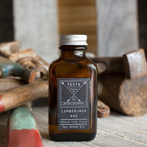 Lumberjack Axe Beard Oil