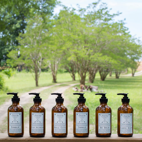 Set of 6 Vesta Liquid Soaps | One of Each Scent