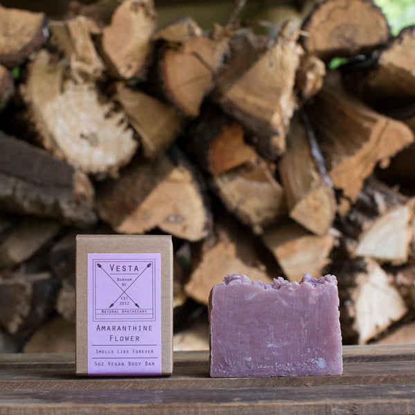 Amaranthine Flower | Vegan Body Soap | Lavender Mint | 5oz