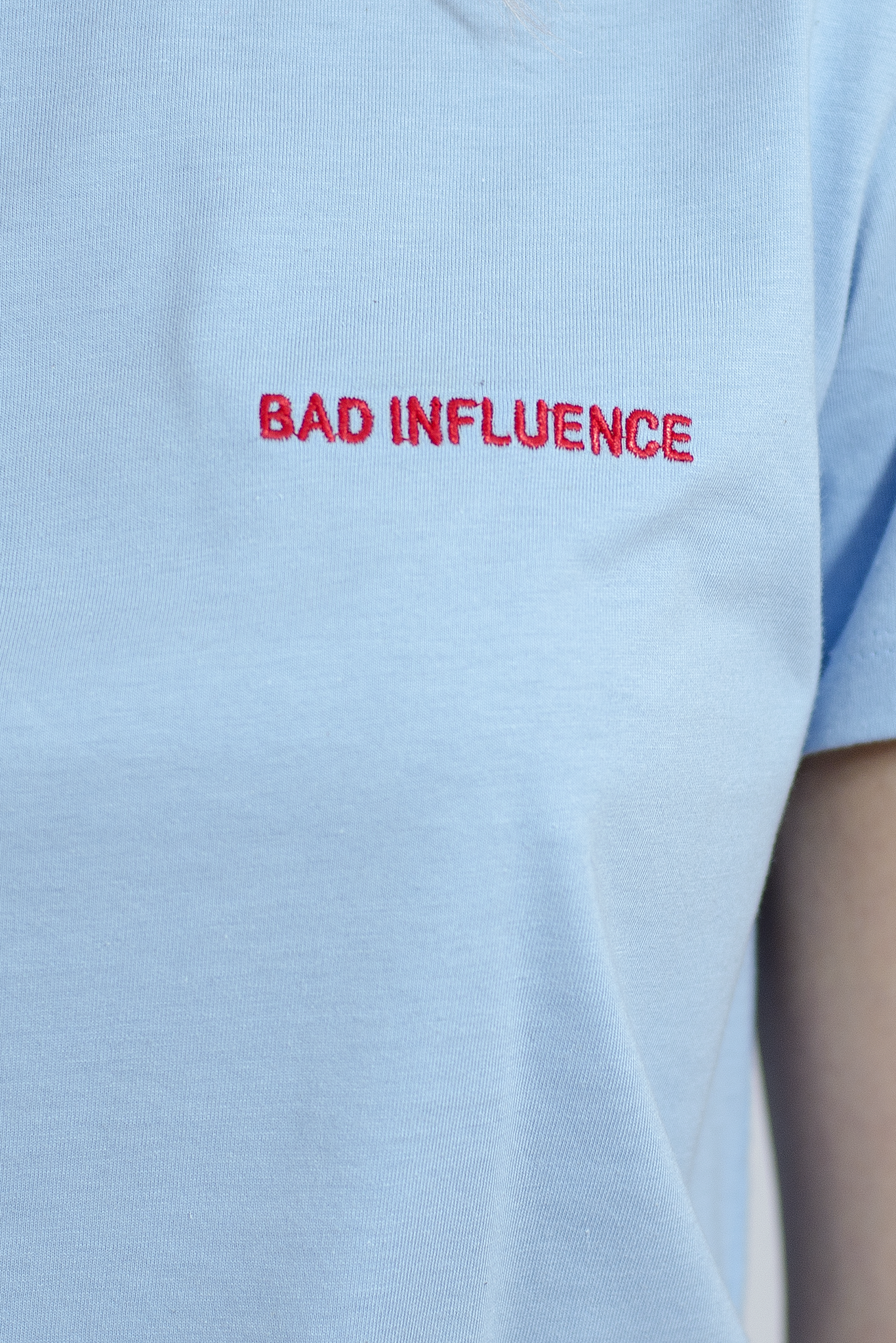 Bad Influence Tee - Blue