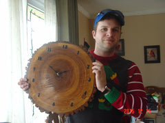 Ryan with Tree Clock from Kev
