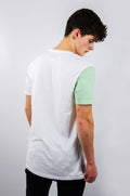 HALF / Green Block Sleeve Tee
