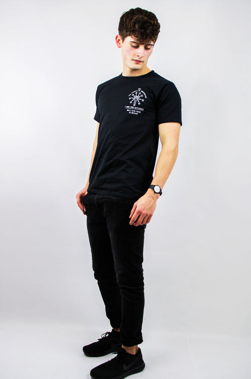 ISYB / Flagman Tee - Pirate Black