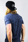 ISYB Flagman Snapback - Pirate Black