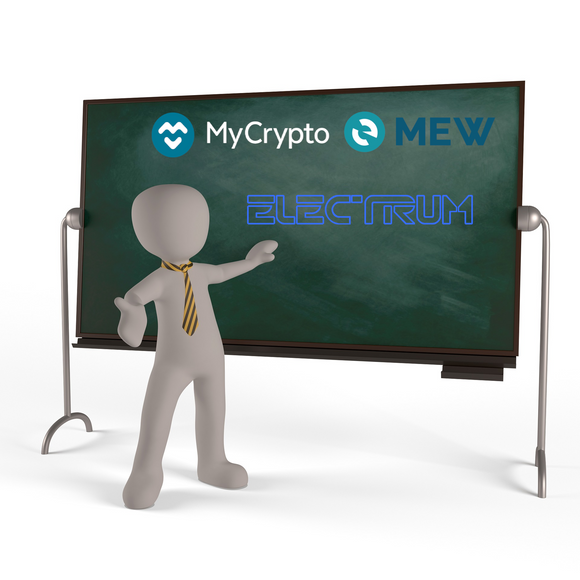 Setup Session Software und MyEtherWallet und MyCrypto