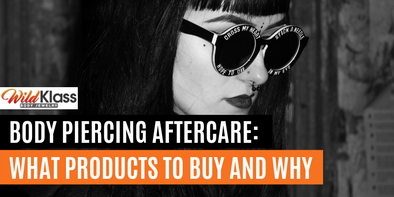 Body Piercing Aftercare: What Products to Buy and Why
