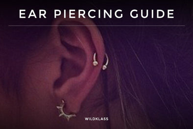 Most Commonly Seen Ear Piercing Guide