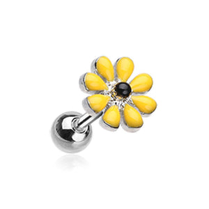 Spring Blossom Flower WildKlass Cartilage Tragus Earring