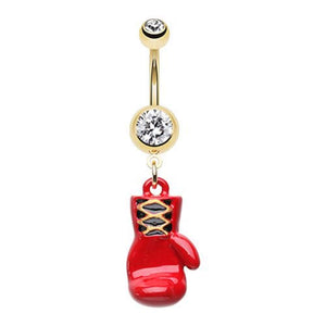 Fight for What You Love WildKlass Belly Button Ring-WildKlass Jewelry