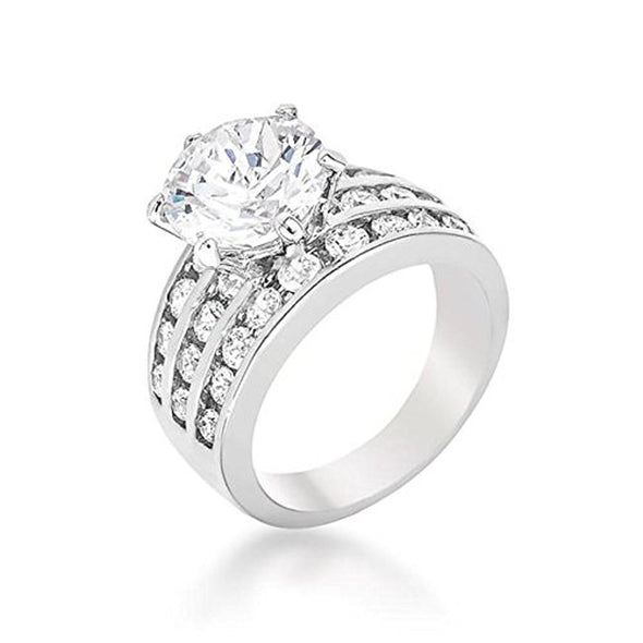 WildKlass Classic Engagement Ring-WildKlass Jewelry
