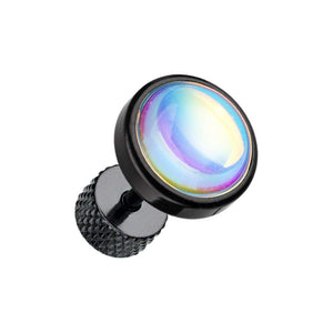 Black Illuminating Moonstone Steel WildKlass Fake Plug